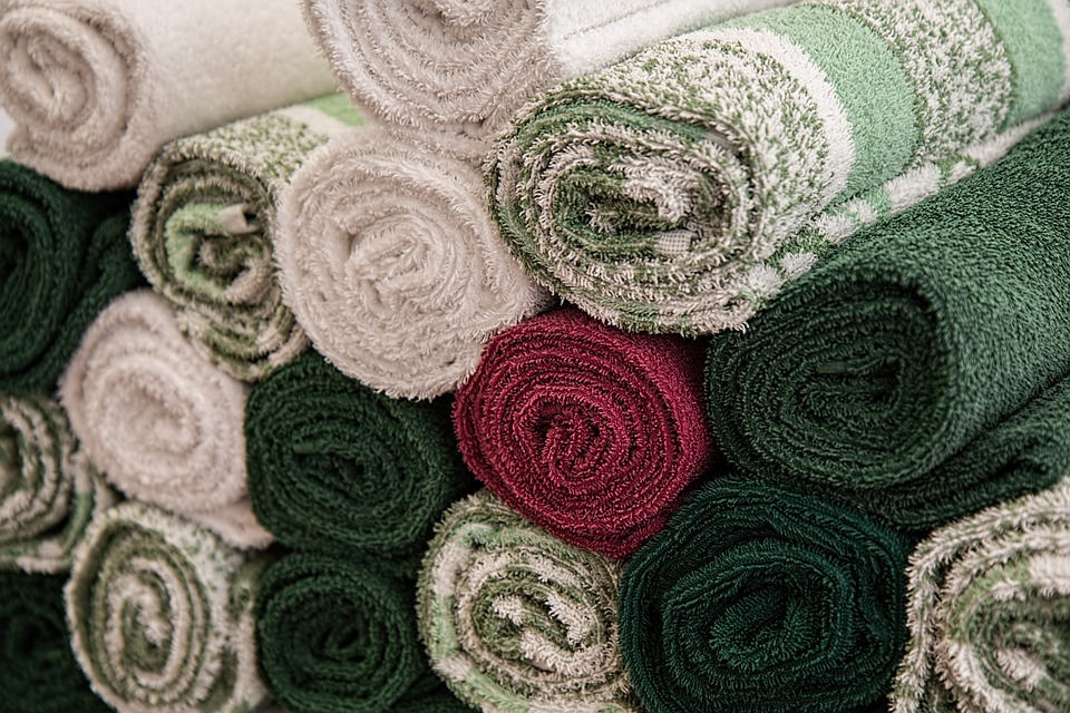 Praní frotých ručníků