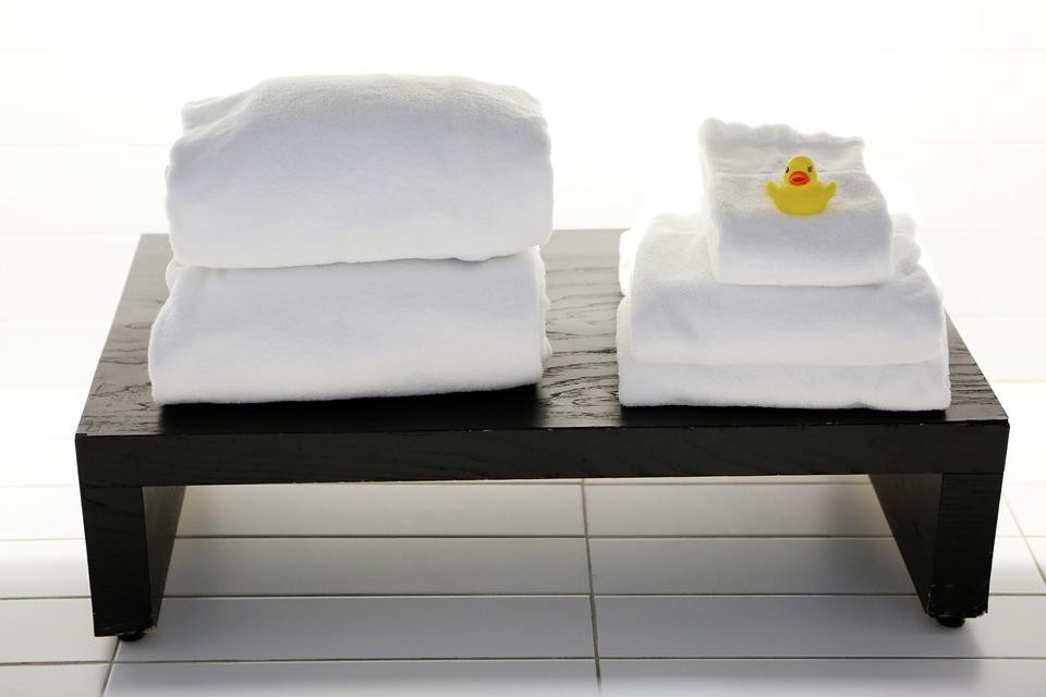 Jak prát froté ručníky